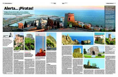 Reportaje de nuestras torres y atalayas de la costa granadina en IDEAL