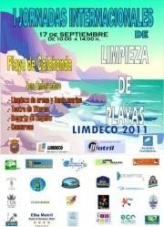I JORNADA INTERNACIONAL DE LIMPIEZA DE PLAYAS 2011