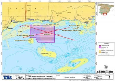 El Observatorio de MaR se opone al proyecto de prospección sísmica para búsqueda de hidrocarburos en la costa de Granada-Málaga